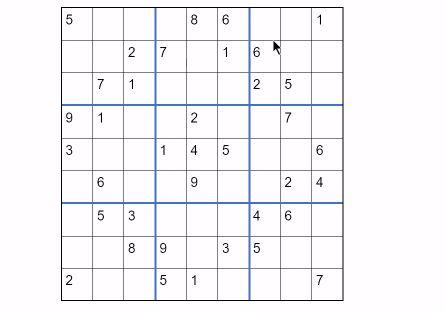 como resolver sudokus
